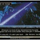 Terminator CCG Esprit De Corps Precedence Rare Game Card