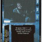 Terminator CCG Gramps Precedence Rare Game Card