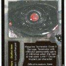 Terminator CCG Ocular Implant Retinal Laser Rare Game Card