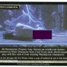 Terminator CCG Reinforcements Rare Game Card Unplayed