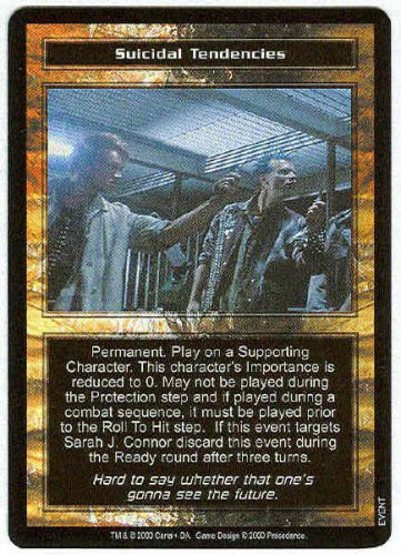 Terminator CCG Suicidal Tendencies Rare Game Card
