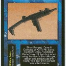 Terminator CCG UZI 9mm Precedence Rare Game Card Unplayed