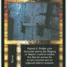 Terminator CCG Barred Door Precedence Game Card