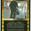 Terminator CCG Deadly Force Precedence Game Card