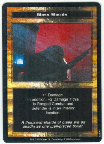 Terminator CCG Glass Shards Precedence Game Card