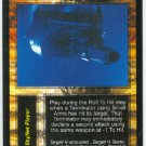 Terminator CCG Multiple Target Acquisition Game Card Unplayed