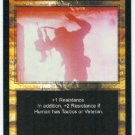 Terminator CCG Human Intuition Precedence Game Card