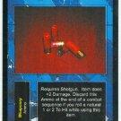 Terminator CCG Manstopper Rounds Precedence Game Card Unplayed