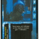 Terminator CCG Orphan Precedence Game Card Unplayed