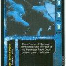 Terminator CCG Perimeter Patrol Dogs Game Card Unplayed