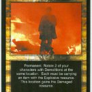 Terminator CCG Raze Game Card Unplayed