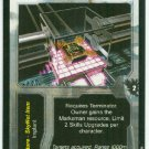 Terminator CCG Skills Upgrade Marksman Game Card Unplayed
