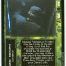 Terminator CCG Resistance Private Precedence Game Card