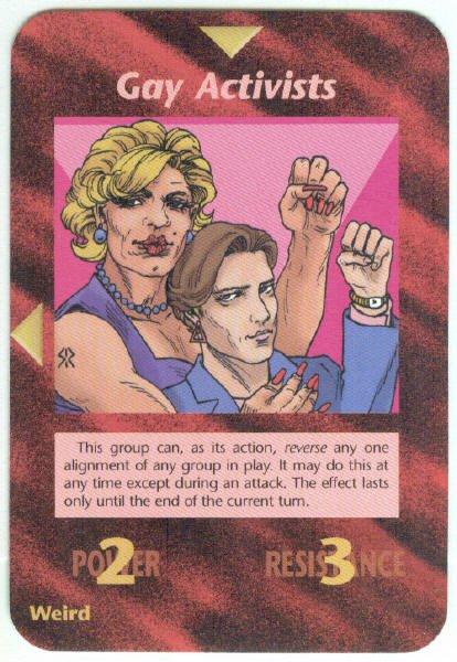 Illuminati Activists New World Order Game Card (#2)
