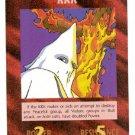 Illuminati KKK New World Order Game Trading Card