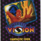 Marvel Vision 1996 Fantastic Four Mini Magazine