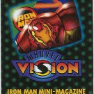 Marvel Vision 1996 Iron Man Mini Magazine