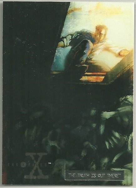 X-Files Season 2 #34 Parallel Card Silver Bar Xfiles