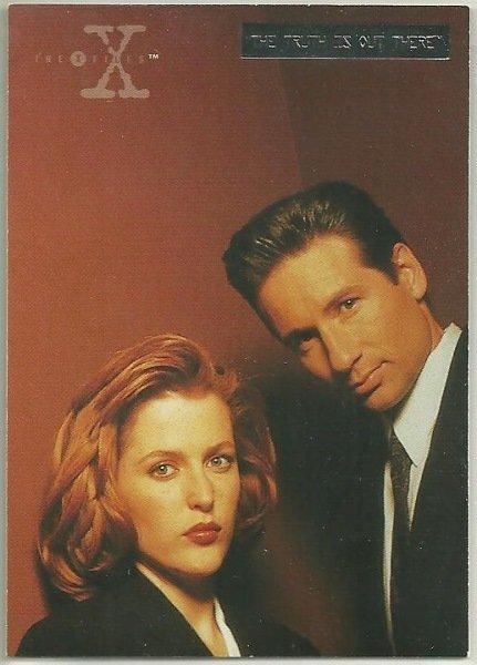 X-Files Season 3 #01 Parallel Card Silver Bar Xfiles