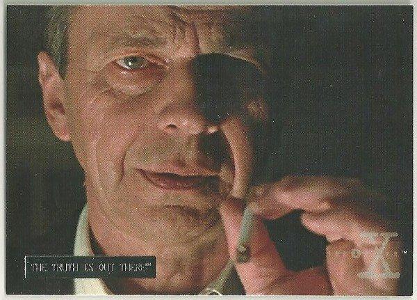 X-Files Season 3 #06 Parallel Card Silver Bar Xfiles