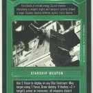 Star Wars CCG Ion Cannon Uncommon DS Limited Game Card Unplayed