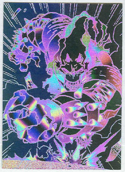 Amalgam 1996 Holopix #3 Otherworldly Speed Demon Chase Card