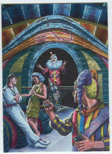 Barclay Shaw #MS3 Chase Card The Best Of John Brunner