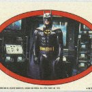 Batman 1989 Topps #34 Puzzle Sticker Trading Card