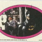 Batman 1989 Topps #41 Puzzle Sticker Trading Card