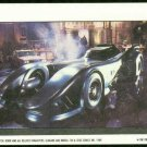 Batman 1989 Topps #44 Puzzle Sticker Trading Card