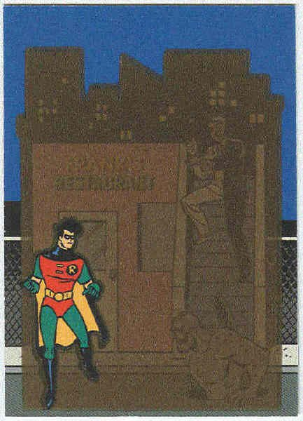 Batman Robin Adventures #T2 Thermal Chase Card