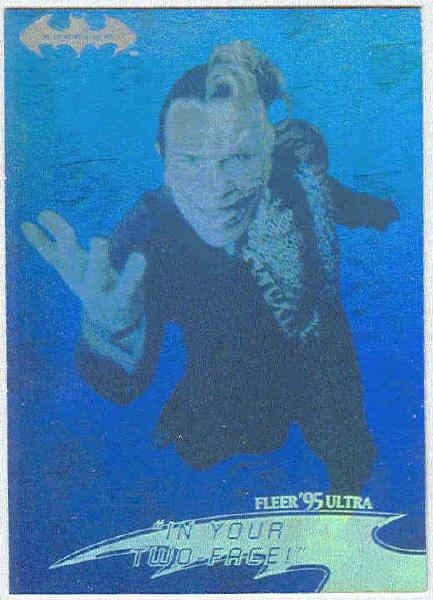 Batman Forever #16 Hologram Chase Trading Card