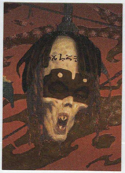 Brom 1995 #M2 Metallic Storm Card The Silent Quintet II