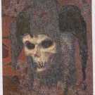 Brom 1995 #M5 Metallic Storm Card The Silent Quintet V