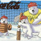 Coca Cola Polar Bears #SP-1 Die Cut Red Foil Chase Card