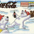 Coca Cola Polar Bears #SP-5 Die Cut Red Foil Chase Card