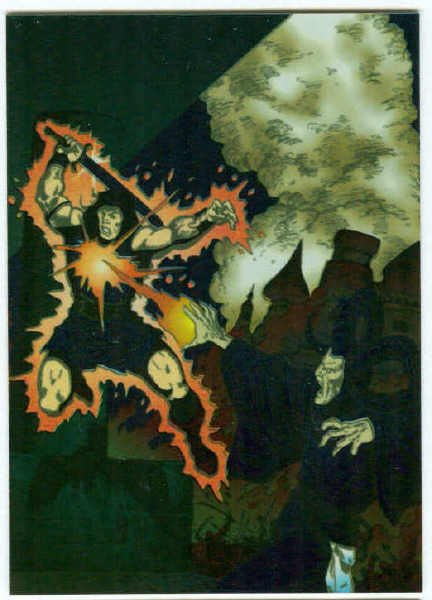 Conan Marvel Years #M4 Magnachrome Chase Trading Card