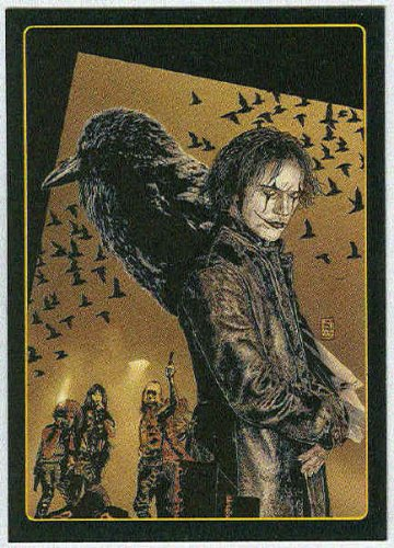 Crow City Of Angels 1996 #2 Embossed Trading Card