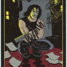 Crow City Of Angels 1996 #3 Embossed Trading Card