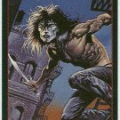 Crow City Of Angels 1996 #4 Embossed Trading Card