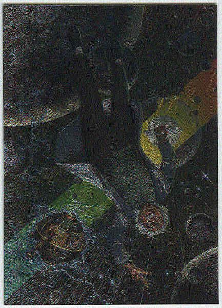David Mattingly #M3 Metallic Storm Chase Trading Card
