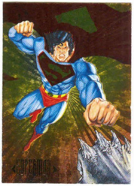 DC Comics Master Series #DS3 Foil Chase Card Superman