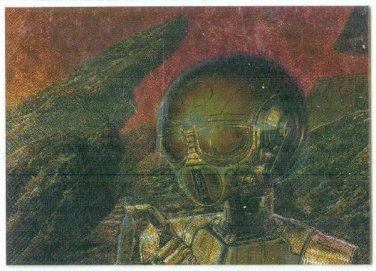 Bob Eggleton #M3 Metallic Storm Card Asimov Chronicles