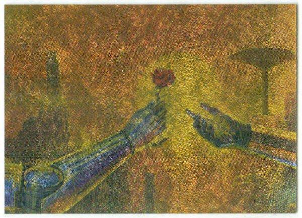 Bob Eggleton #M5 Metallic Storm Card Asimov Chronicles
