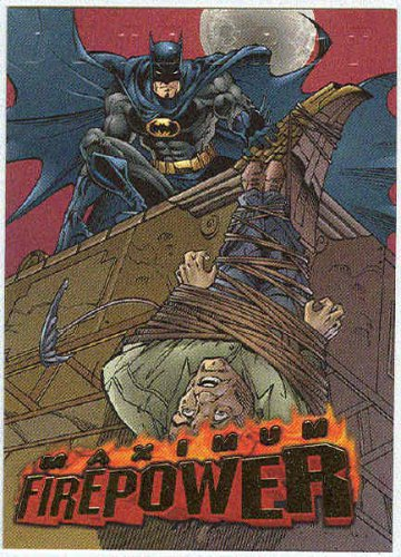 DC Outburst #1 Maximum Firepower Embossed Chase Card