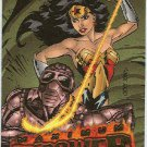 DC Outburst #14 Maximum Firepower Embossed Chase Card
