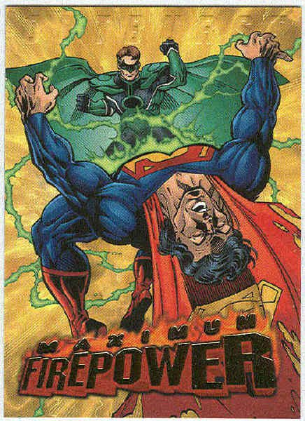 DC Outburst #16 Maximum Firepower Embossed Chase Card