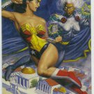 DC vs Marvel Holo F/X #12 Wonder Woman Chase Card
