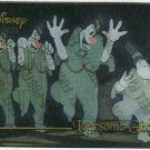 Disney Premium Silver Screen Card #87 Lonesome Ghosts