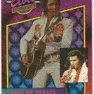 Elvis Presley 1992 Dufex Foil Card #5 Love Me Tender